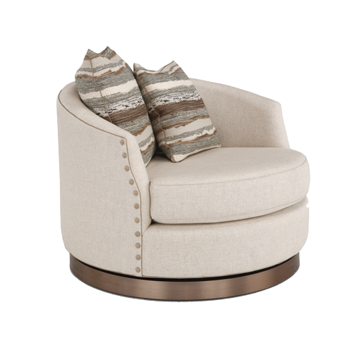 Peachy 721 Swivel Chair And Ottoman Burton James Pabps2019 Chair Design Images Pabps2019Com